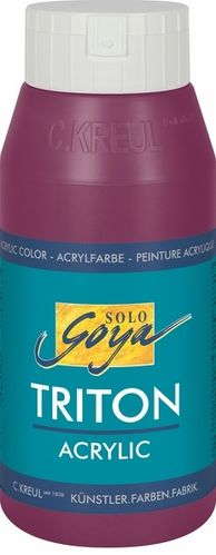 Solo Goya Acrylfarbe TRITON ACRYLIC BASIC - Bordeaux 750ml